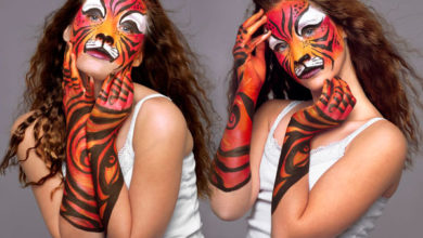 Photo of 50 Perfect Body Painting on Female Persons
