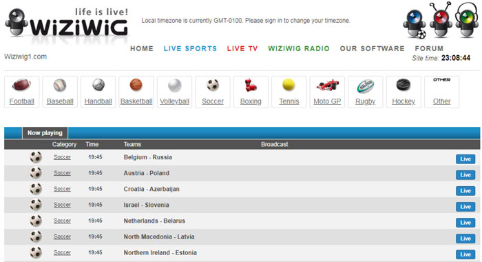 best free sports streaming sites