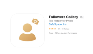 Get unlimited free Instagram likes from the Followers Gallery app