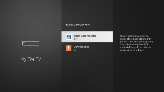 Google Play Store on Fire TV Stick