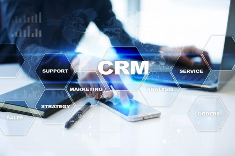 Business with Mobile CRM