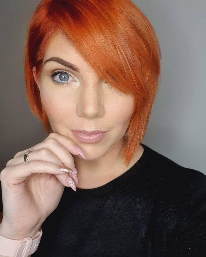 Edgy Asymmetrical Bob Haircuts for Women