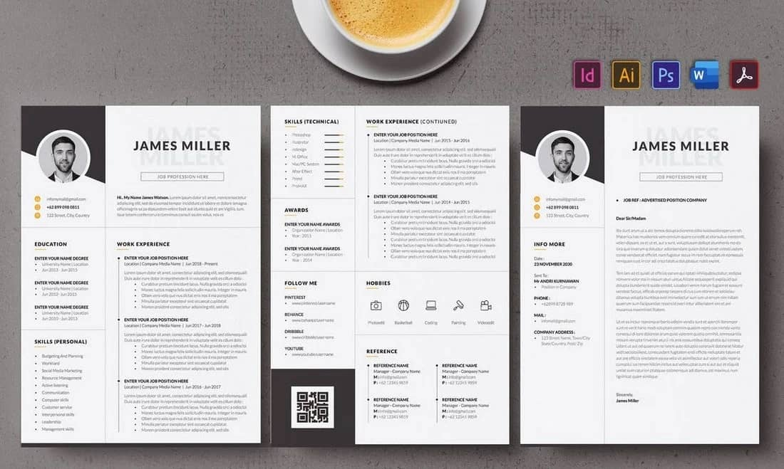 How to choose a professional resume template