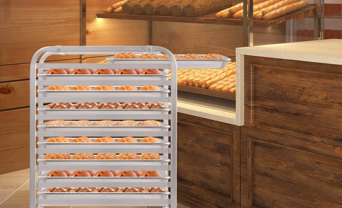 Top Commercial Equipment Picks: Bakery Racks for Cooling, Storing, and Transporting