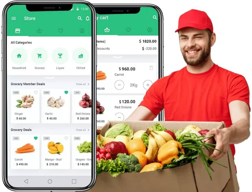 How to Create a Grocery Delivery App with Instacart Clone?