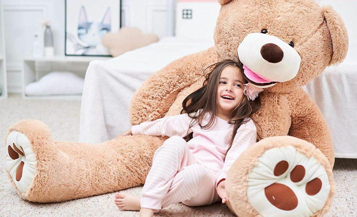 How to Clean a Giant Teddy Bear?